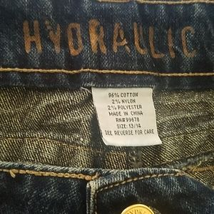 Hydraulic Jeans - Hydraulic Size 13/14 Junior Womens Jeans